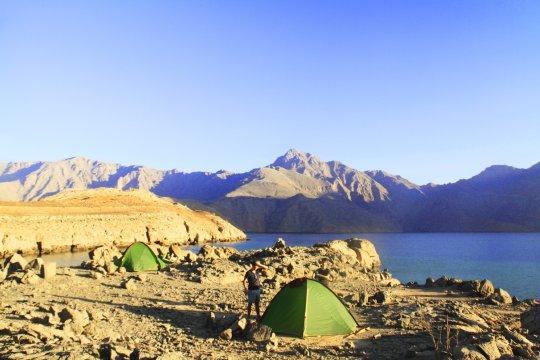 Zelten an Arabiens Küste