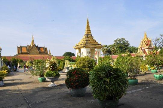 Kambodscha Phnom Penh Koenigspalast