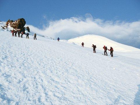 Aufstieg zum Elbrus