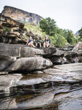 Cascades im Royal Natal Nationalpark