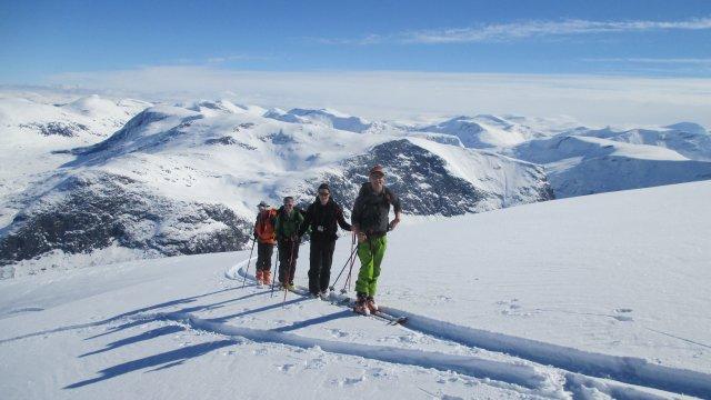 Norwegen-Hogstollen-Gipfelplateau