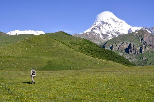 Wanderung am Kasbek