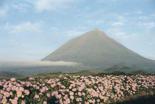 Azoren: Vulkan Pico 2