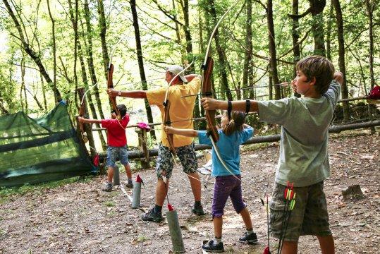 Pyrenaeen Bogenschiessen Wettbewerb