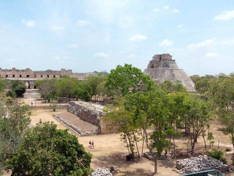 Archaeoologische Zone Uxmal_2