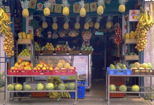 Costa-Rica-Früchtestand