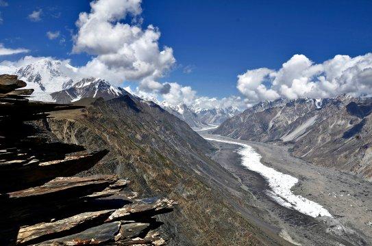 Pakistan - Batura-Gletscher
