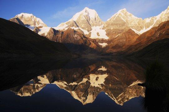 Bergspiegelbild Nordperu