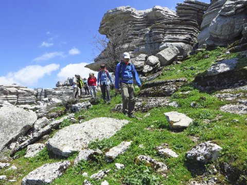 Wanderung im Torcal Andalusien_2