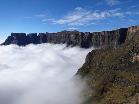 Südafrika-Amphitheater-Drakensberge