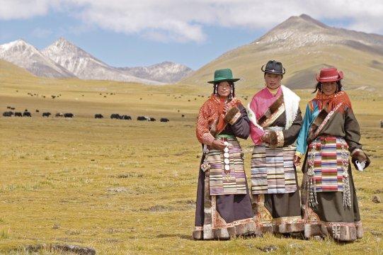 Tibetische Nomaden