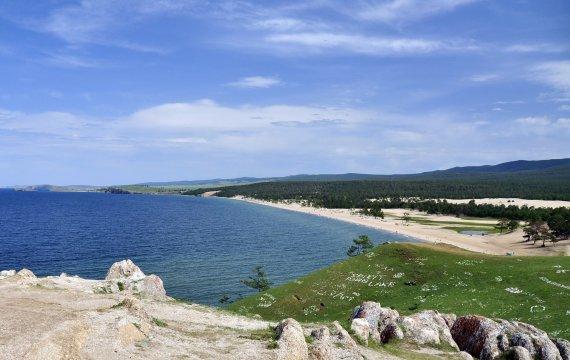 der Strand von Khuzir