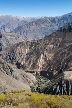 Der Colca Canyon in Peru