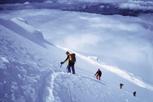 Aufstieg am Vulkan Cotopaxi (5.897 m)