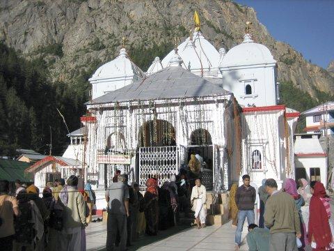 Tempel in Gangotri