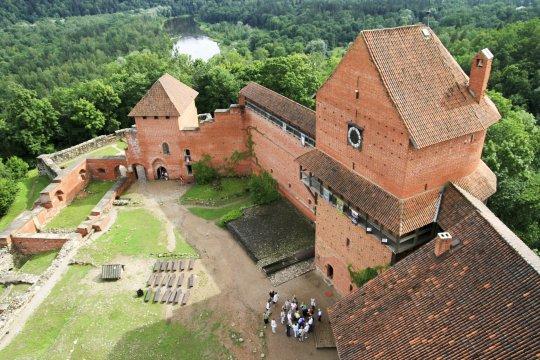 Lettland Burg Turaida