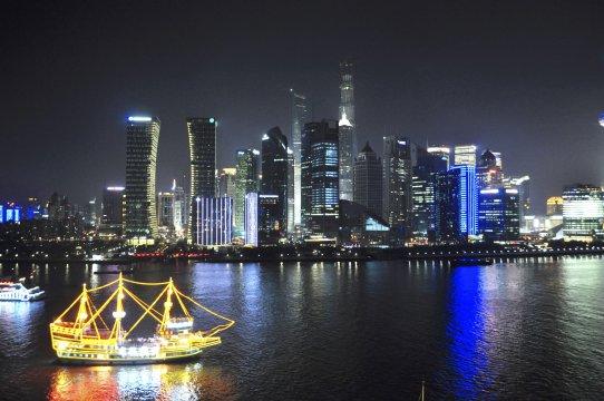 Skyline Shanghai-Pudong