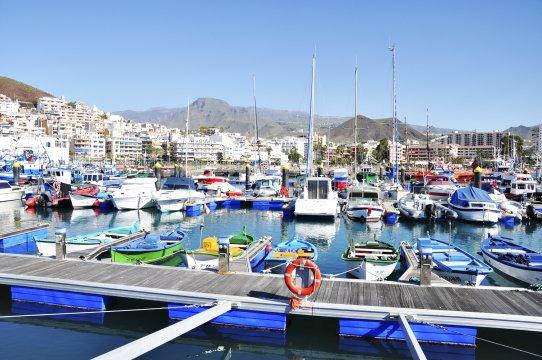 Im Jachthafen von San Sebastian, La Gomera