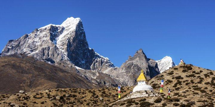 stupa everestgebiet