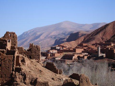 Berberdorf in Marokko