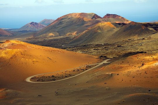 Wüstenlandschaft Lanzarote