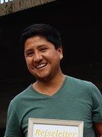 Alex Ugarte Meza Reiseleiter Porträt