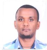 Teketayi Abebe Mekuria Reiseleiter-Porträt'