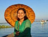 Myat Ei Ei Aung Reiseleiter-Porträt'