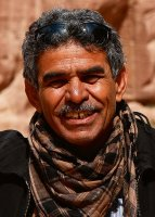 Mohammed Eid Al Bedowi Reiseleiter-Porträt'