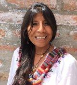 Yudy Huancahuire Reiseleiter-Porträt'