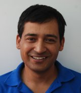 Sandeep Joshi Reiseleiter-Porträt'