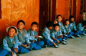Tibeterschule-Ladakh-Kinder