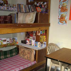 Tibeterschule-Ladakh-Kinderzimmer