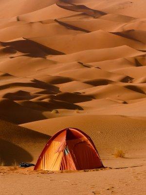 Zelt Camp Lager Duene Schlafplatz Algerien