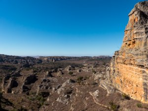 Madagaskar-Isalo-Aussicht