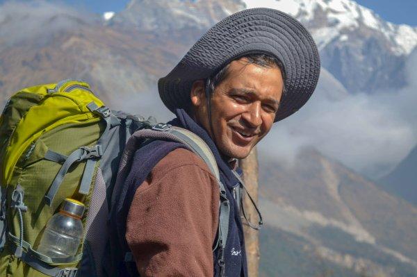Nepal-Reiseleiter-Sandeep-Joshi; Foto: Jürgen Skambraks